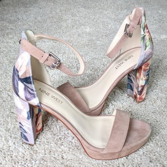 5648bad51b0 NWT Nine West Dempsey Platform Dress Sandals